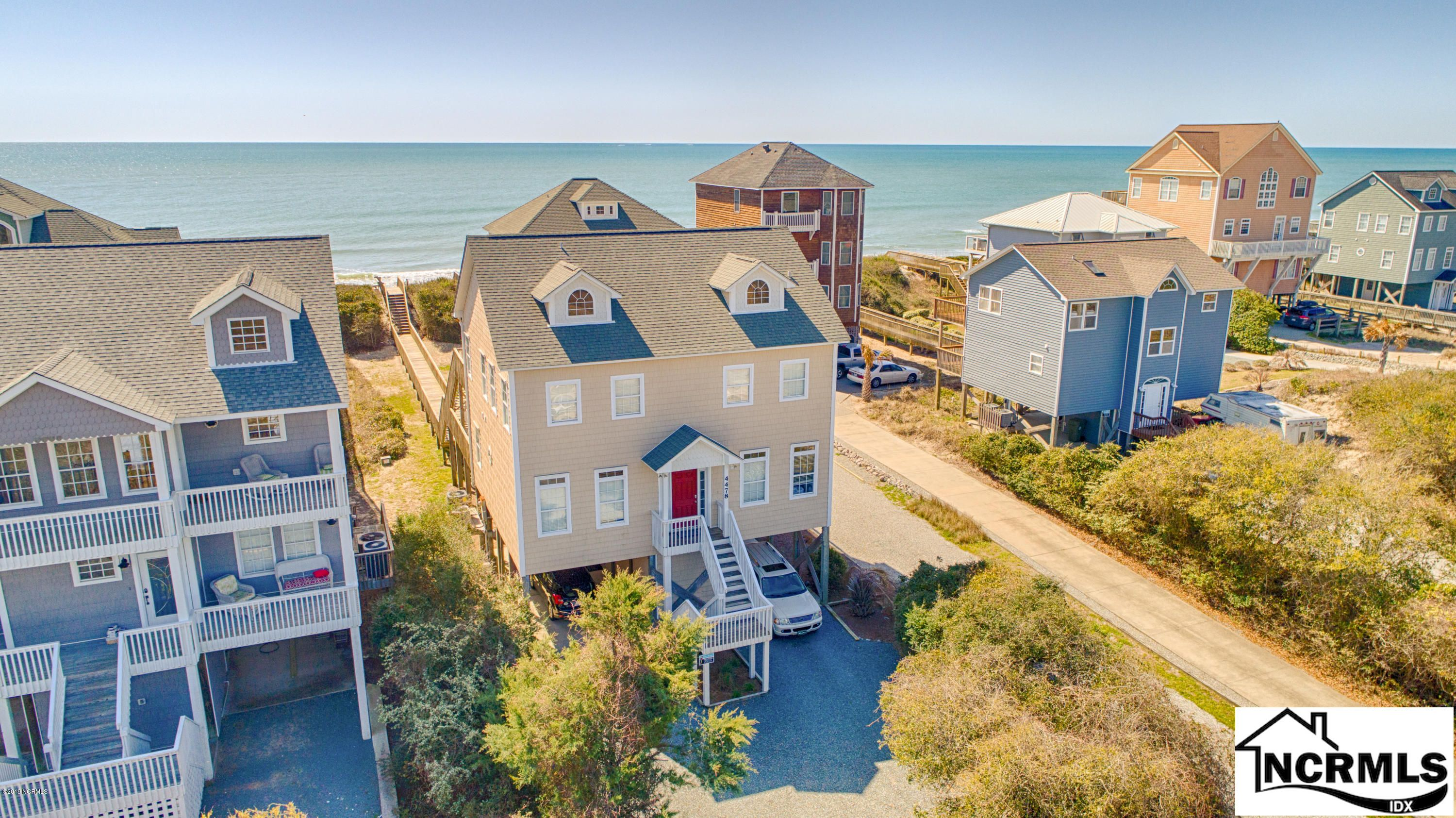 4478 Island Drive, North Topsail Beach, NC 28460 is now