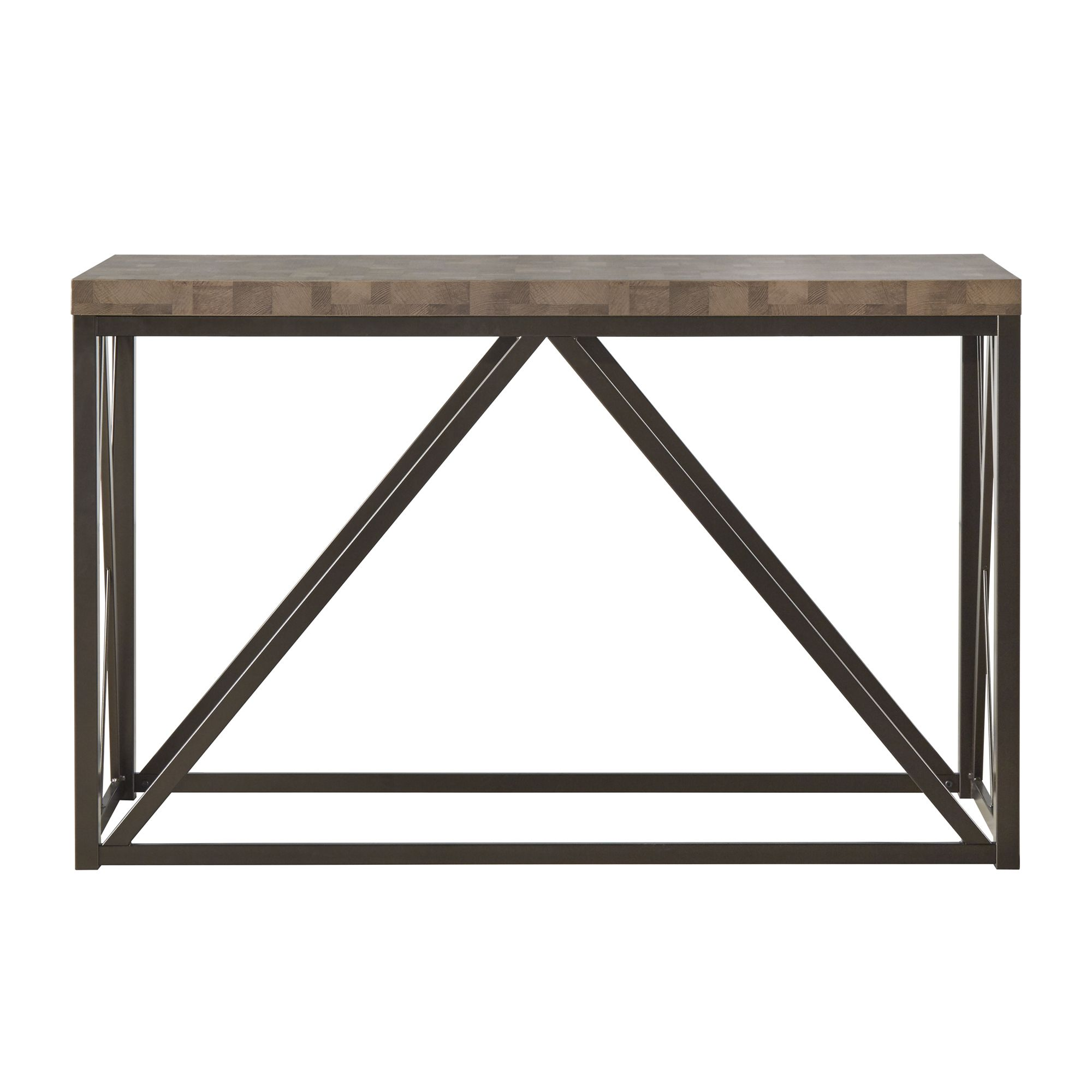 This attractive console table is designed for modern living it this attractive console table is designed for modern living it features clean lines as well geotapseo Image collections