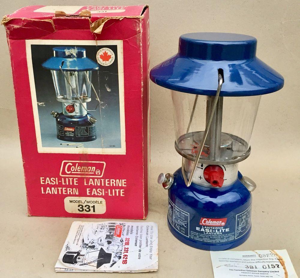 Dating vintage Coleman lanterner