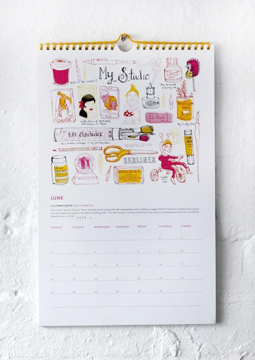 Design Files 2012 Calendar!