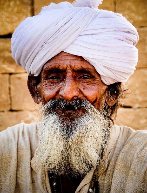 Old Man - Jaisalmer, Rajasthan   Interesting characters