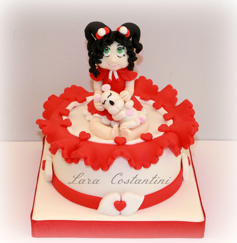 Bimbola e l orsettino Lara Costantini Cake Designer