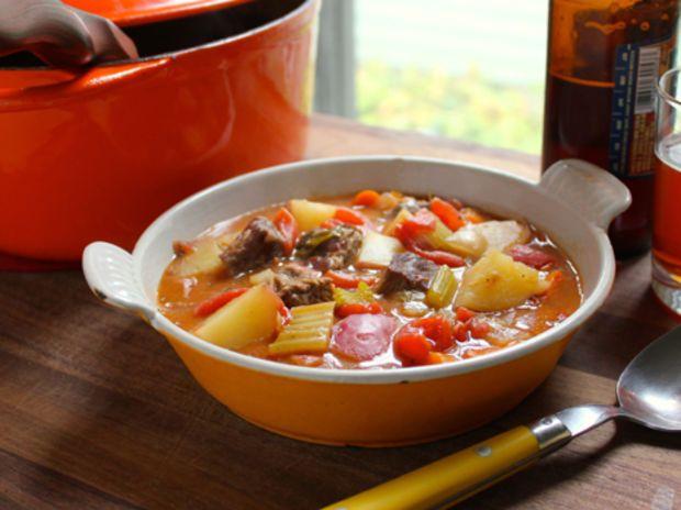 Dinner Deal: Rustic Beef & Tomato Stew - RachaelRay.com