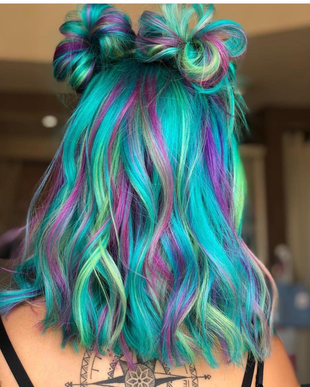 Pin On Colourful Hair 3