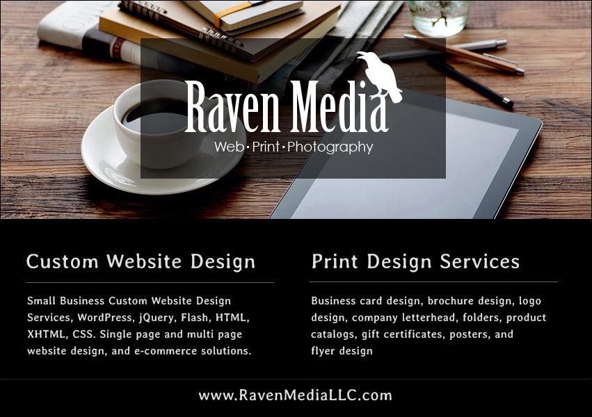 Raven Media Website Design http://www.RavenMediaLLC.com