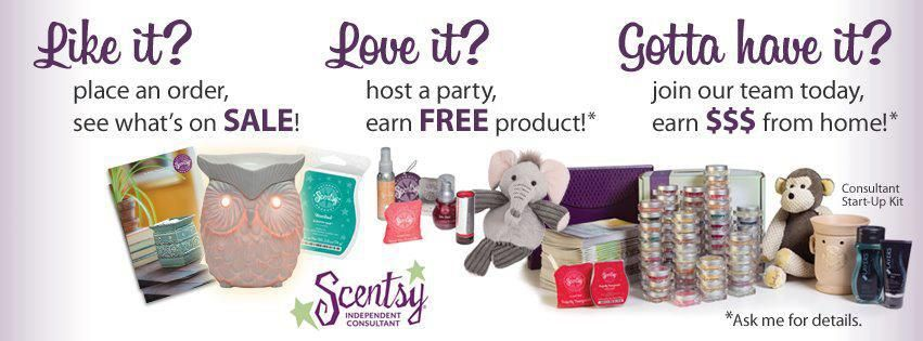 This is the perfect Scentsy ad!  it's what got me hooked in the exact same way!