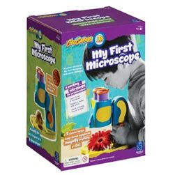 TOP HOLIDAY PICK for 2015! Geosafari My First Microscope is an 8x Stereoscope that enhances the viewing of everyday objects and gets kids started with using a microscope! SHIPS FREE to New England, NJ, NY & PA!
