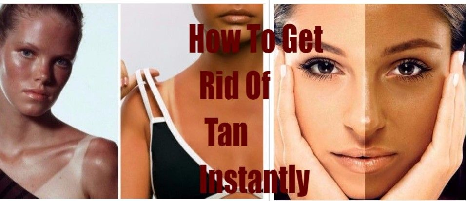 Top 8 Home Remedies To Remove Tan Instantly Tan removal
