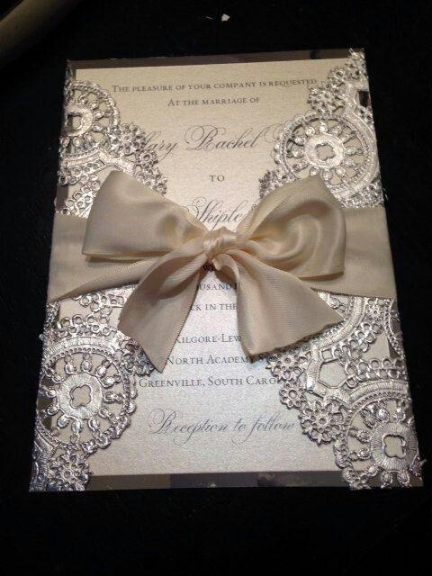 diy dolie wedding invites wedding ideas Pinterest