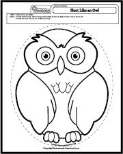 hoot like an owl | eulen | eule, basteln mit kindern und