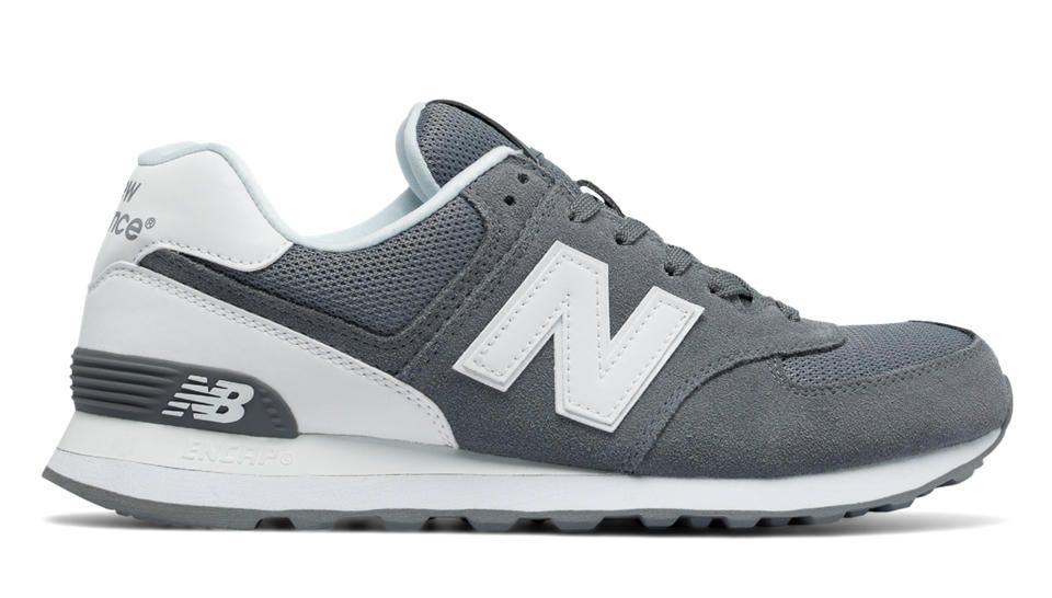 the latest dcbe7 6f2ef 574 Reflective, Grey with White New Balance Homme, New Balance Men, Outlet,