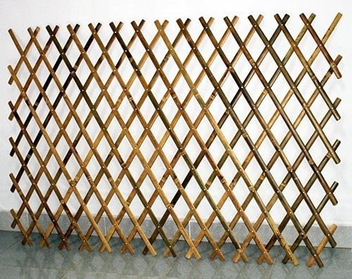 Expandable Bamboo Trellis With Aluminum Rivets Asian Home Fencing And Gates