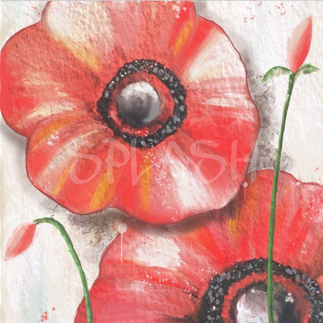 Cuadros de flores cuadros modernos cuadros pintados a for Cuadros baratos decoracion