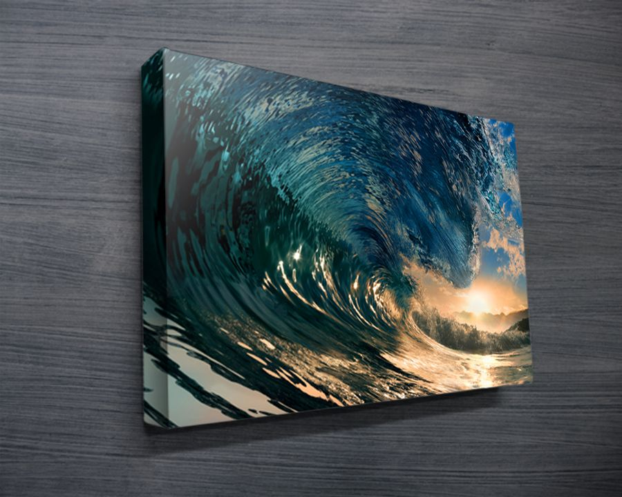 Surf art surfing artwork sydney australia canvas for Cool canvas painting ideas