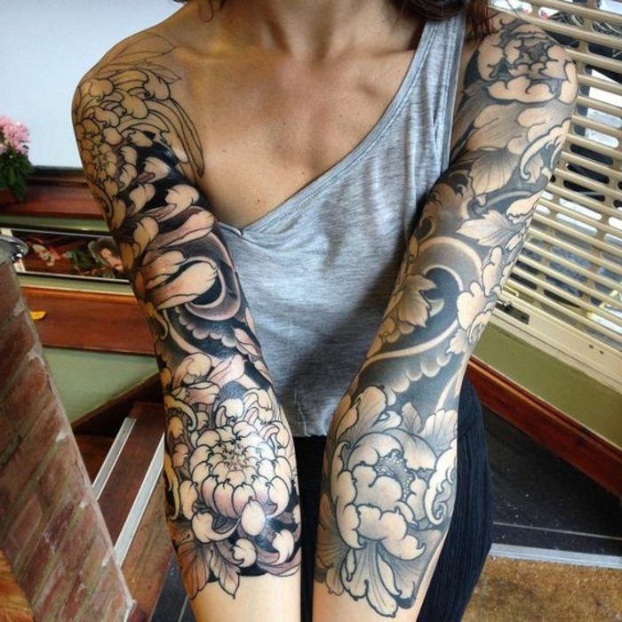 1001 versions fantastiques du tatouage pivoine irezumi tatouage tatouage pivoine et. Black Bedroom Furniture Sets. Home Design Ideas