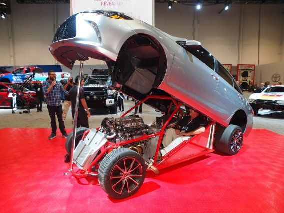 Cool Insanely Cool Cars From The SEMA Show In Las Vegas Coole - Cool cars names 2017