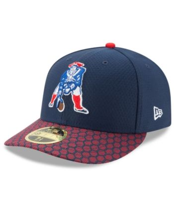 ed1eb48e08e New Era New England Patriots Sideline Low Profile 59FIFTY Fitted Cap - Navy Red  7