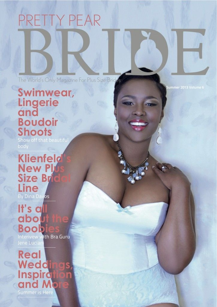 PPB Magazine #6 Summer Issue is LIVE! | The World's ONLY Magazine for Plus Size Brides | Pretty Pear Bride
