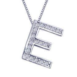 صور حرف E Diamond Necklace Necklace Diamond