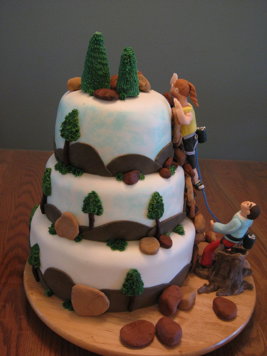 Image Result For Rock Climbing Cake Topper With Images Cake