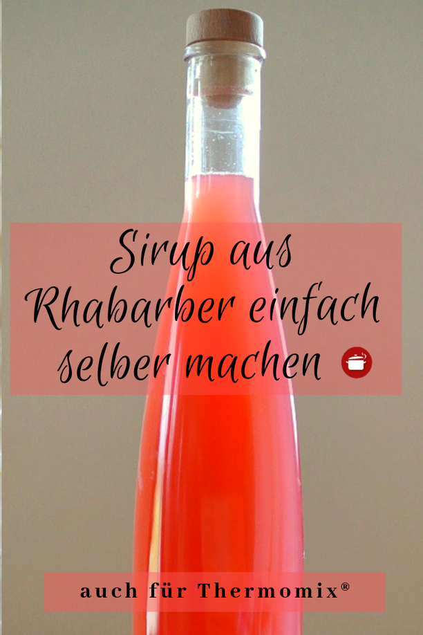 Photo of Make rhubarb syrup yourself