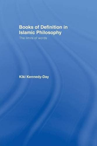 Books Of Definition In Islamic Philosophy The Limits Of Words Want Additional Info Click On The Image Books Philosophy Books To Read