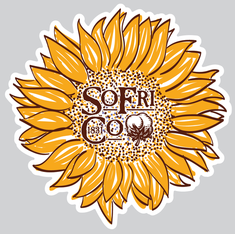 Car Truck Wall Laptop Stickers Golden Mandala Sunflower Sticker Vinyl Decal