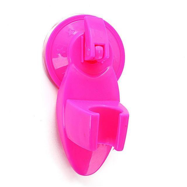 Plastic Seat Chuck Suction Holder Fixed Wall Mount Bracket Shower Room Bathroom