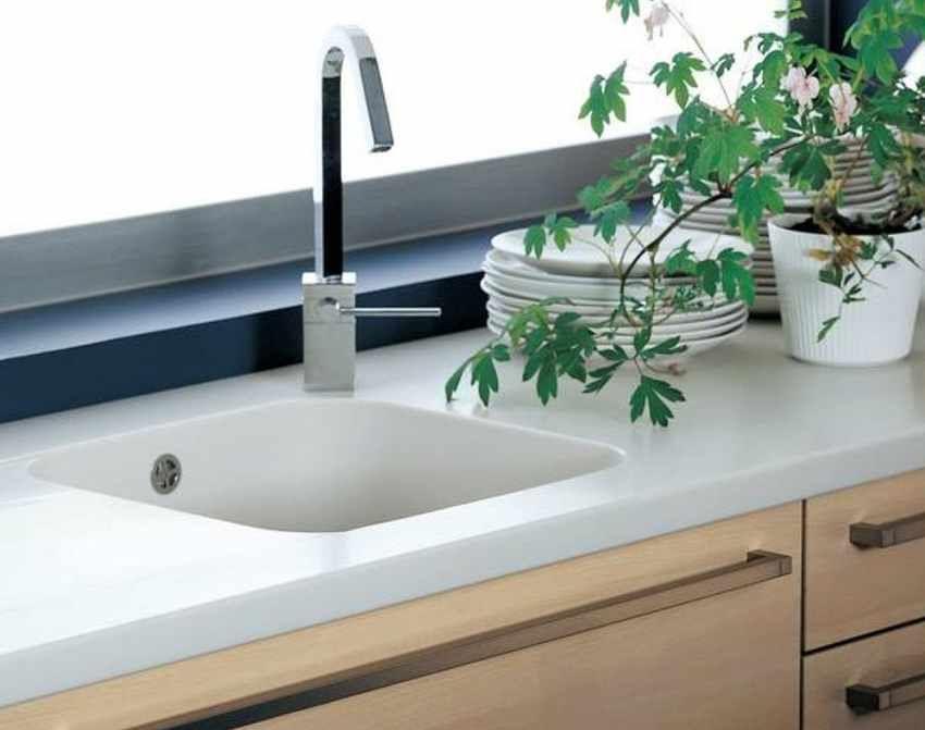 Bildergebnis für küche arbeitsplatte weiss stein | Küche - kitchen ...