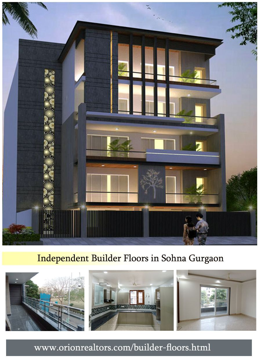 Independent Builder Floors In Gurgaon In 2020 Modern Floor Plans Architecture Building Design Luxury House Plans