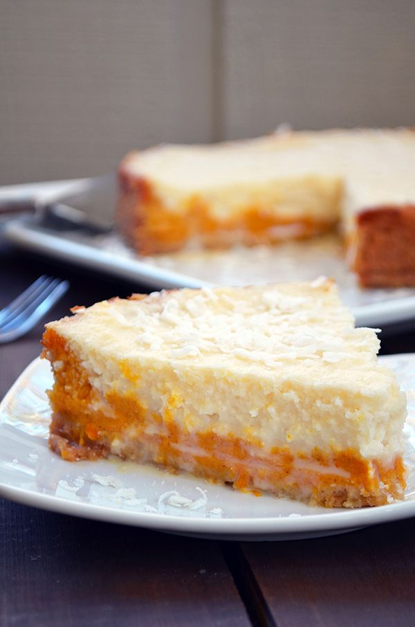 Pumpkin coconut pie sweeter and more decadent then for Pumpkin pie with a twist