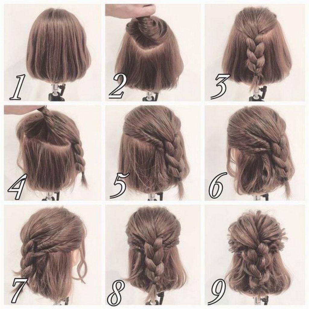 Acconciature capelli corti fai da te facili