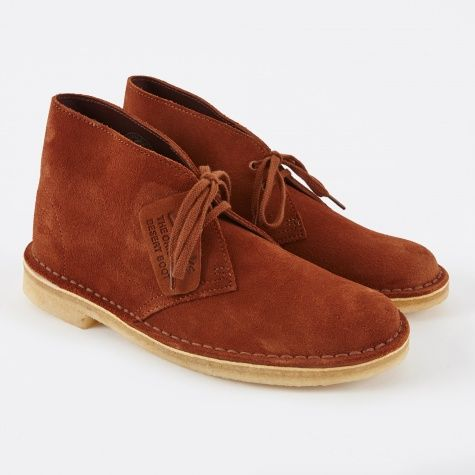 ee7be8d65e3 Clarks Desert Boot - Dark Tan Suede | SHOES ♥ SANDALS ♥ BOOTS ...
