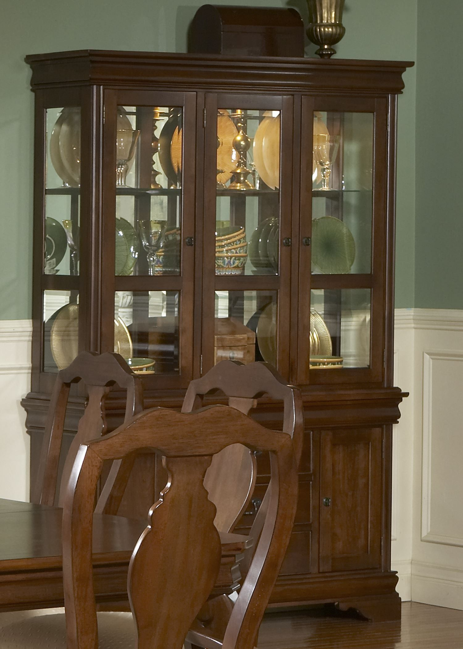 Louis Philippe Small Buffet With Hutch  Dining Room  Pinterest Amusing Small Hutches Dining Room Review