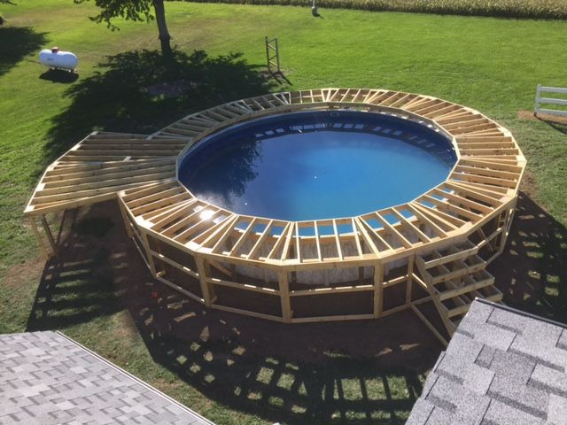 Pin By Bighammer Contracting Llc On Decks In 2019 Pool