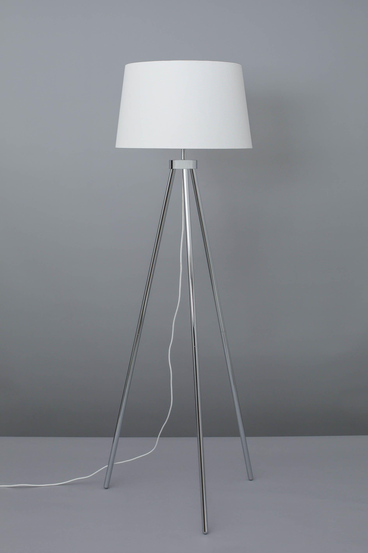 Tristan Floor Lamp Chrome Bhs Lamp Floor Lamp