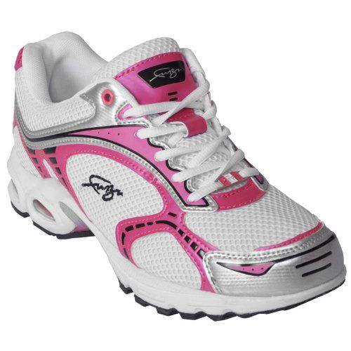 0a8baa4a16 Fubu Womens Jamison Running Shoes US 10 WhiteHot PinkSilver   See this  great product.(