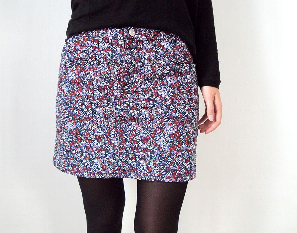 Moss Skirt en Liberty | Cozy Little World