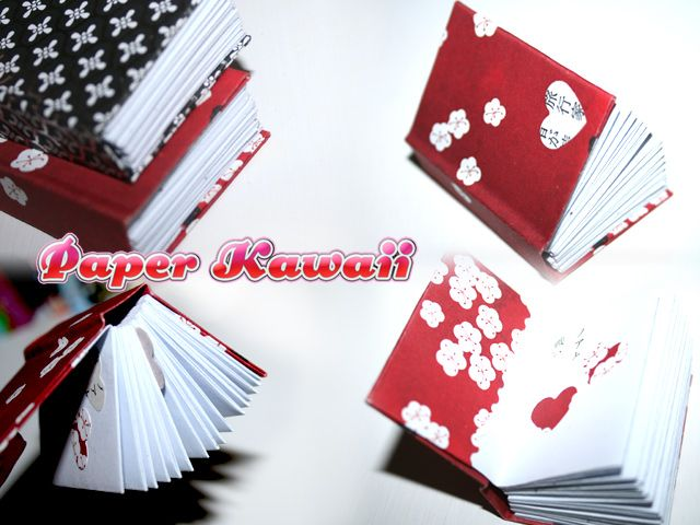 mini origami books tutorial ���� ������� ������