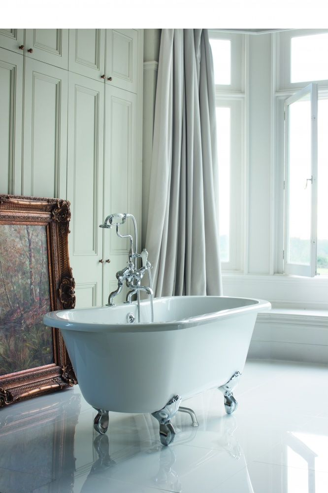 Burlington Windsor Double Ended Bath with Luxury Legs | Burlington ...