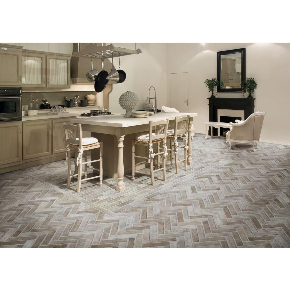 Msi Abbey Brick 2 13 In X 10 In Glazed Porcelain Floor And Wall