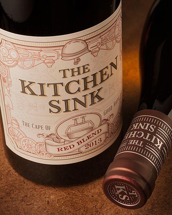 The Kitchen Sink on Packaging Design Served