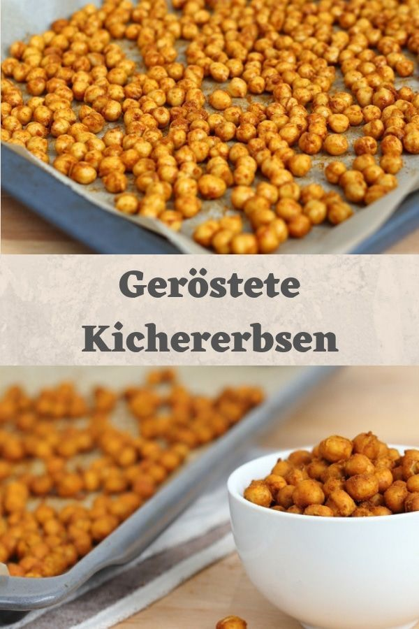 Roasted chickpeas with oriental spices - Sassy's way with GetFit Fitness -  The healthy snack snack...