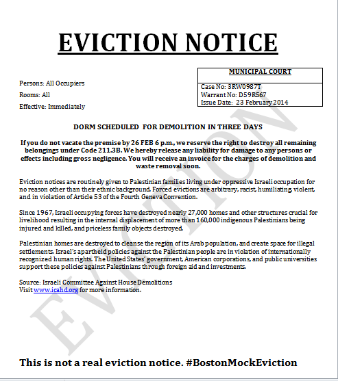 Printable Sample Notice Of Eviction Form – Legal Forms Eviction Notice