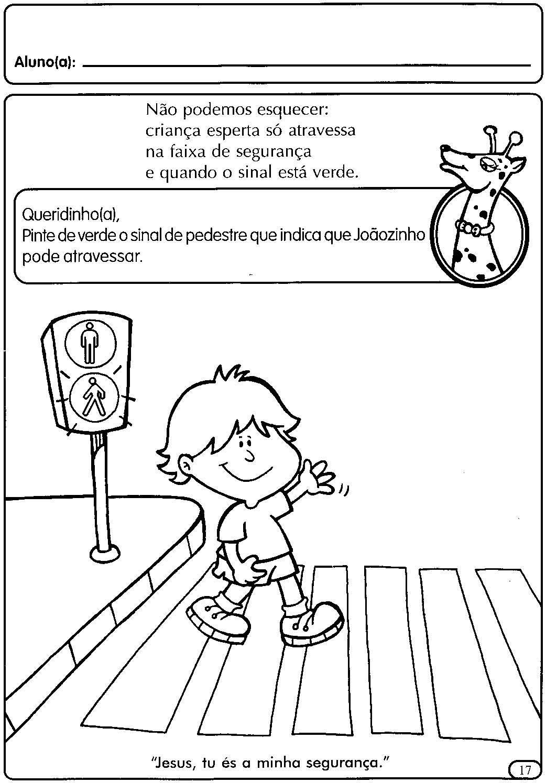 Atividades Para A Educacao Infantil O Transito Com Imagens