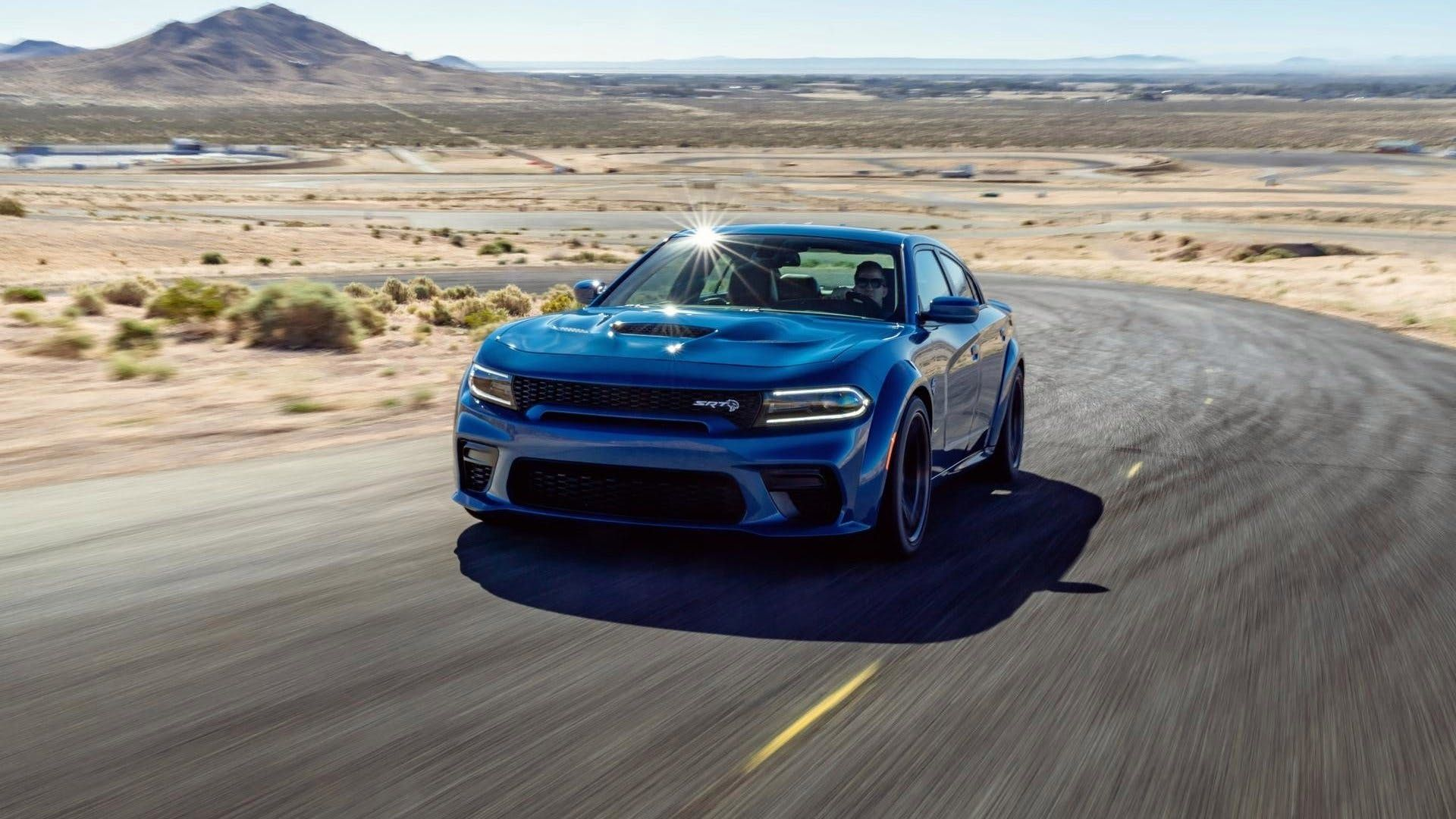 Murica Yeah Raise A Beer To The 707 Horsepower 2020 Dodge Charger Srt Hellcat Widebody The Drive