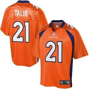 Pro Line Mens Denver Broncos Aqib Talib Big & Tall Team Color Jersey