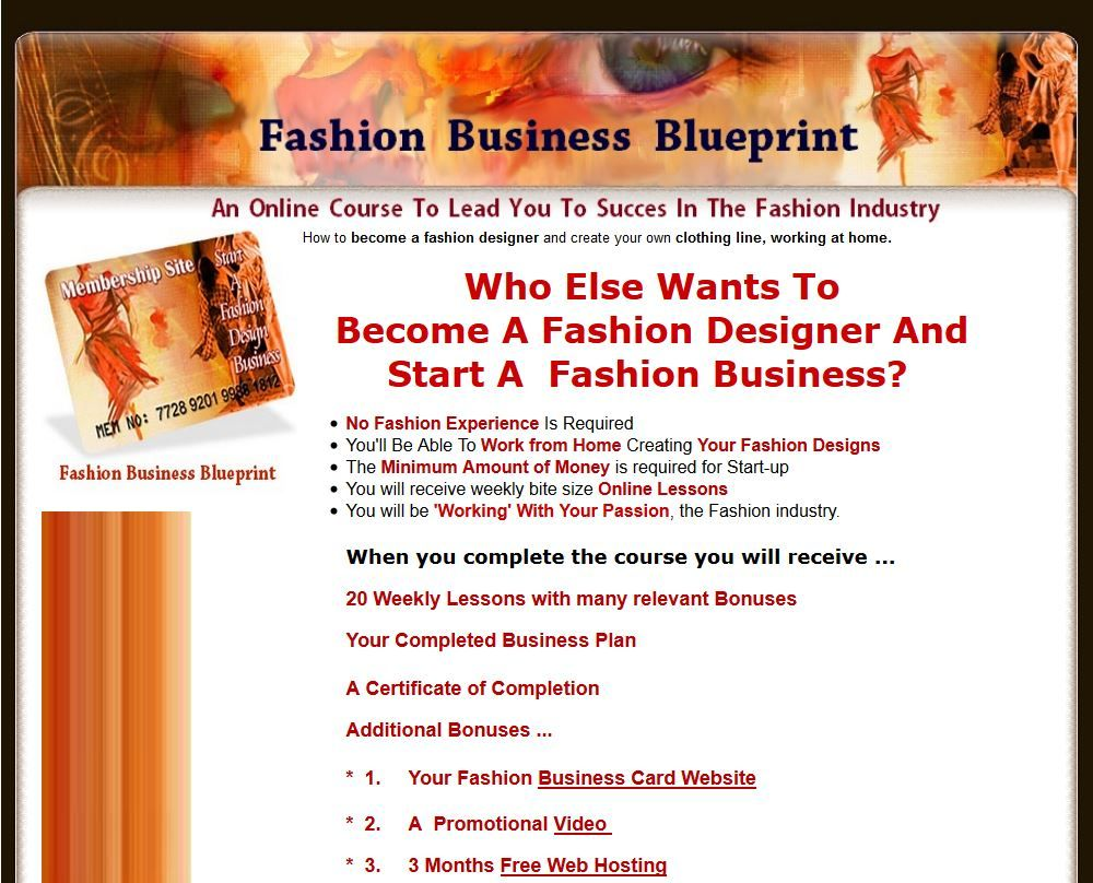 How to a fashion designer and create your own
