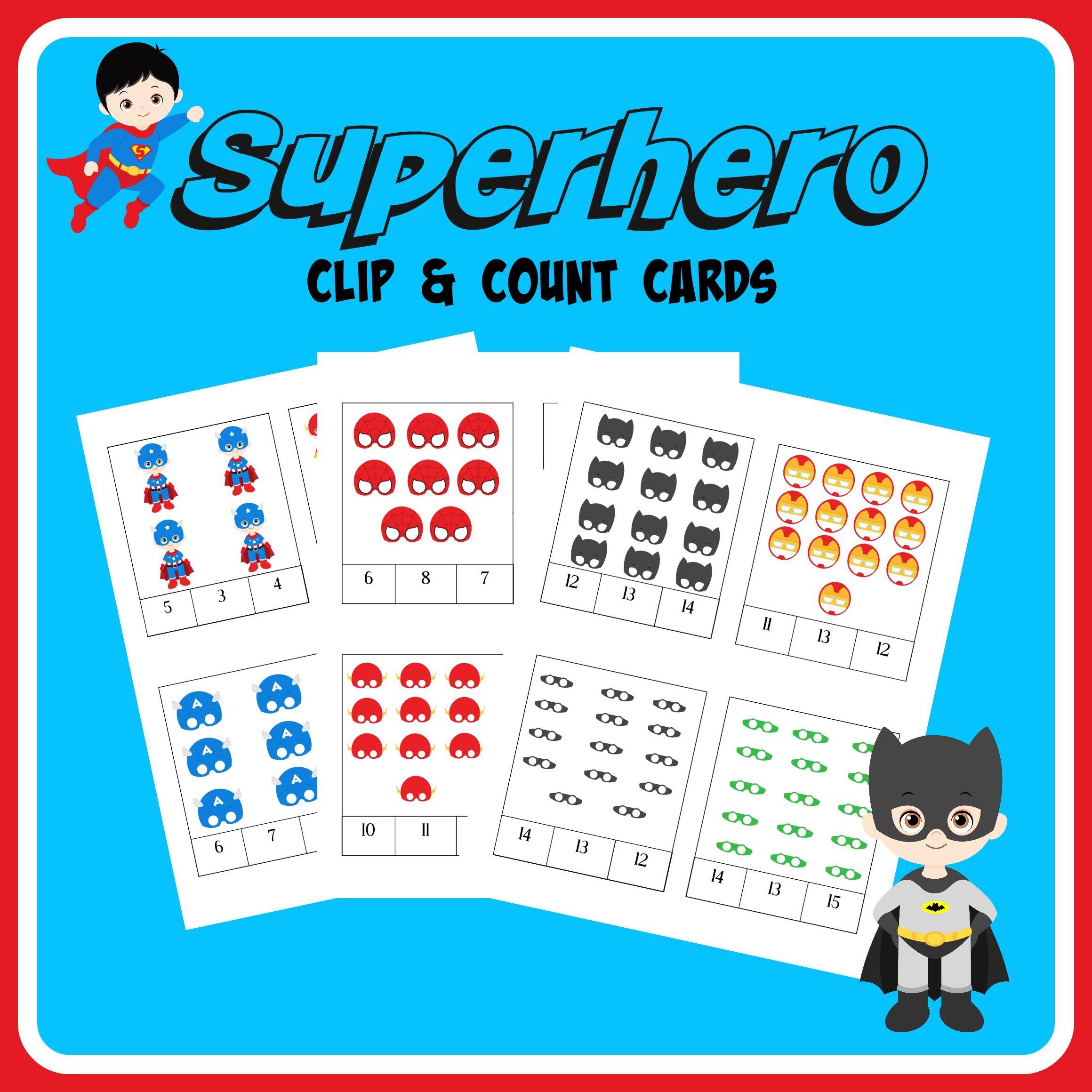 FREE Superheroes Printables & Activities | Unit Studies | Pinterest