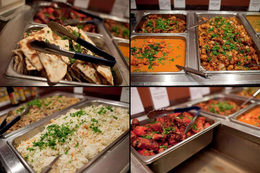Combination Of Fresh Hot Served Wedding Cuisines Prepared By The Famous Caterers Food Wastage Wedding Food Indian Food Recipes